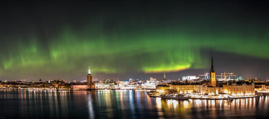 Omslaget till Norrskenskalendern 2019 - foto: Jaromir