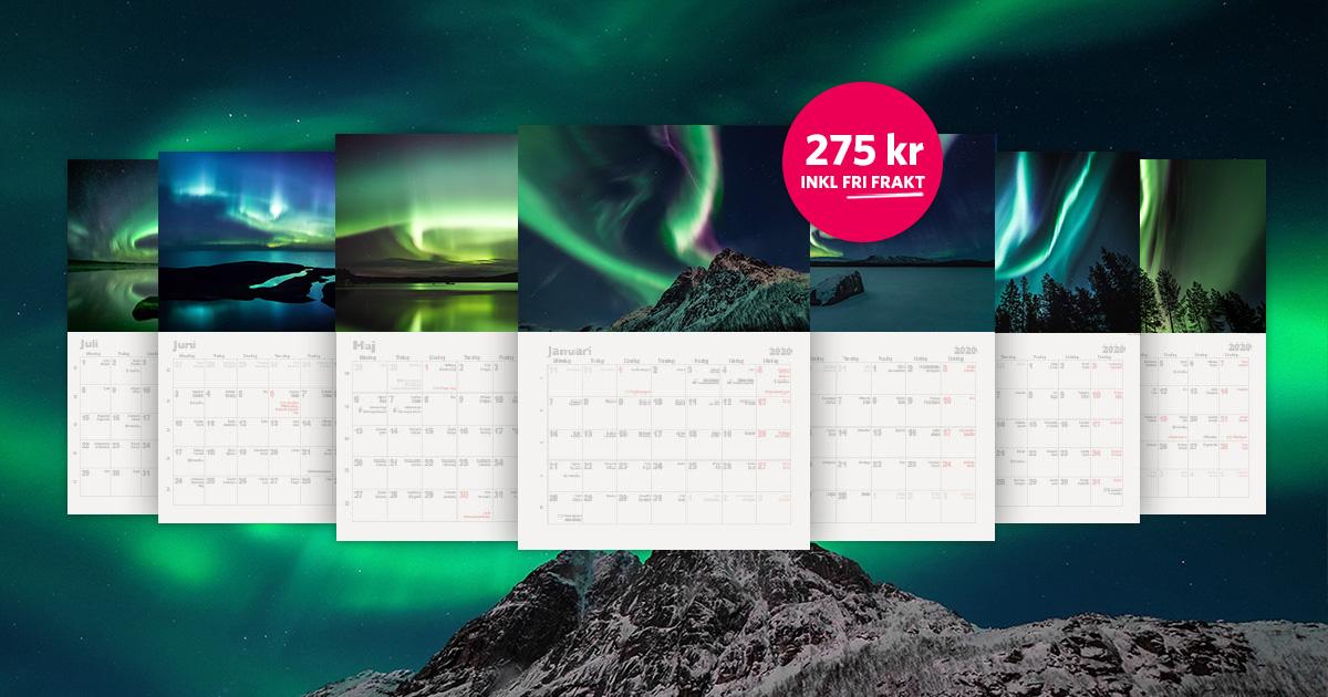 Norrskenskalender 2020
